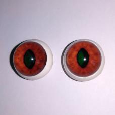 Red fox eyes TK-2 (reflective)